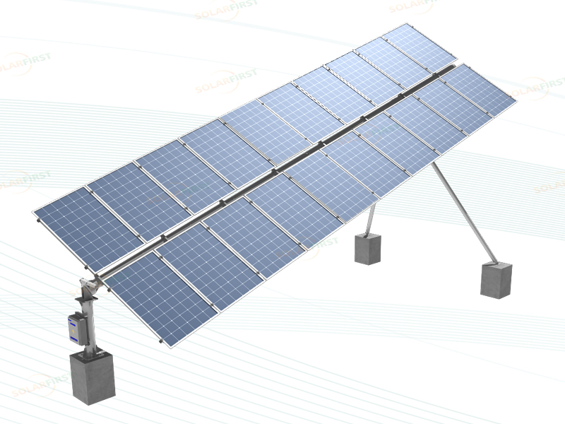 Tilt single axis solar tracker