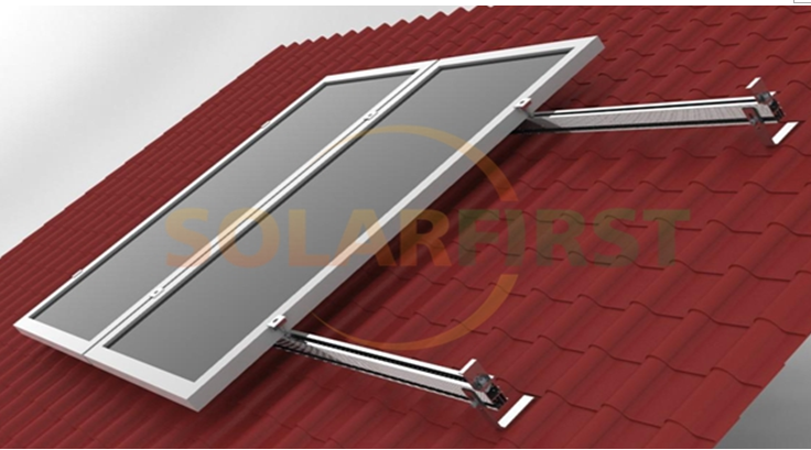 Solar First tile roof mounting system