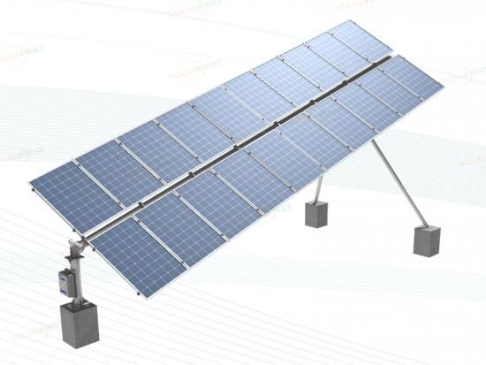 Home Use Tilted Single Axis Solar Tracker